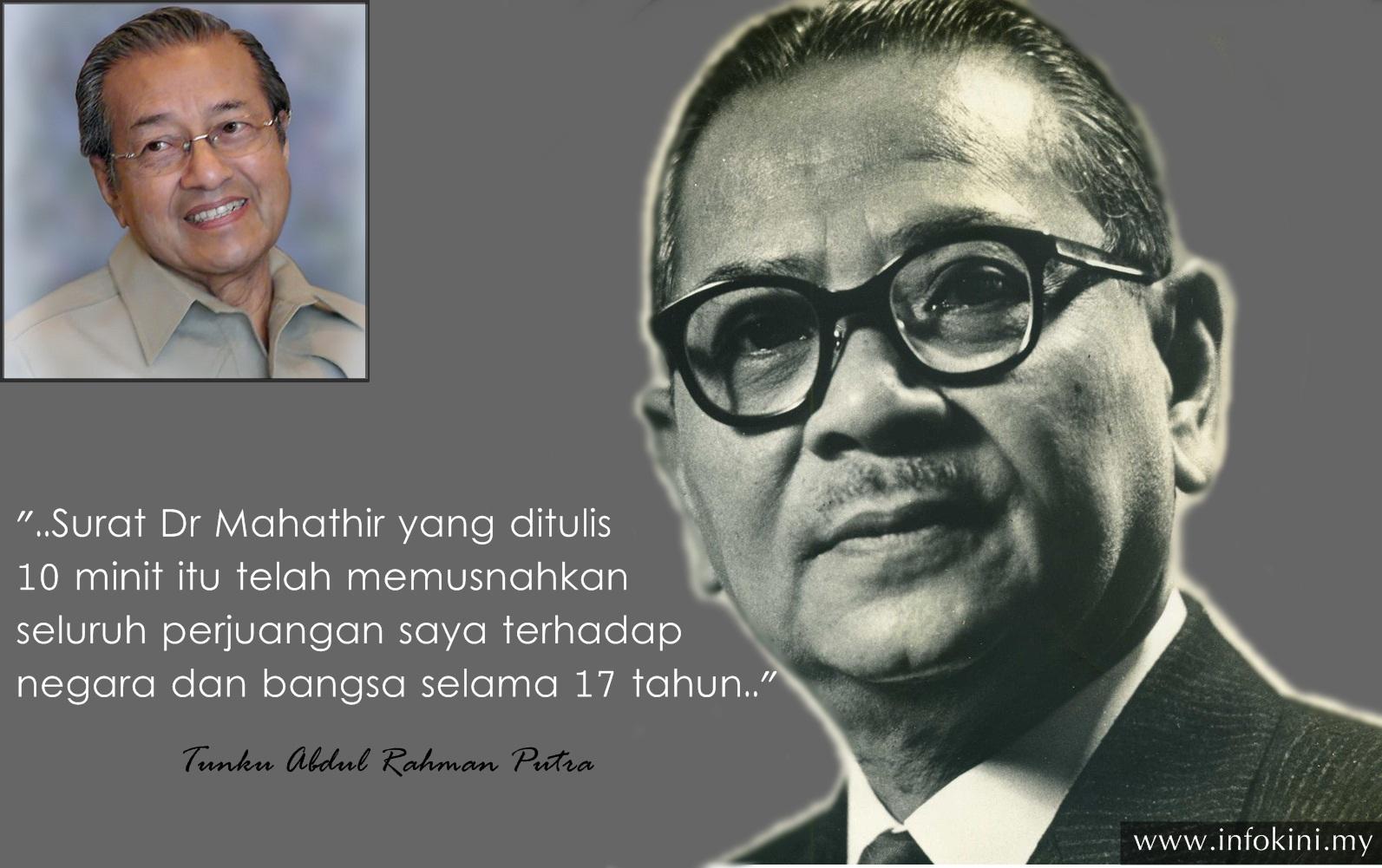 Tun Mahathir Guna Pakai Taktik Singkir Tunku Abdul Rahman Ke Atas Ds Najib Malaysiannewsblog Berita Sensasi Terkini